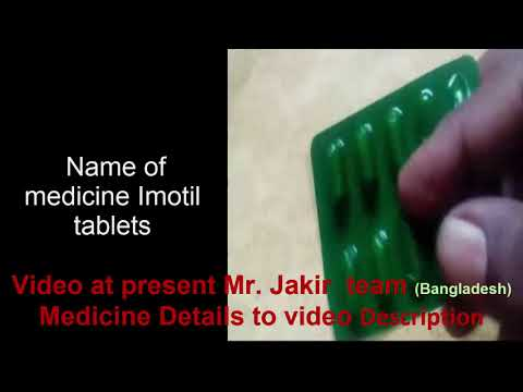 How to work medicine of Imotil tablets details