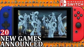 20 New Switch Games ANNOUNCED for Week 1 September 2018 | Nintendo News