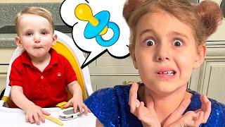 Five Kids Babysitter for Alex Nursery Rhymes