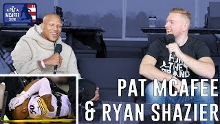 Ryan Shazier on The Pat McAfee Show 2.0: Full Interview