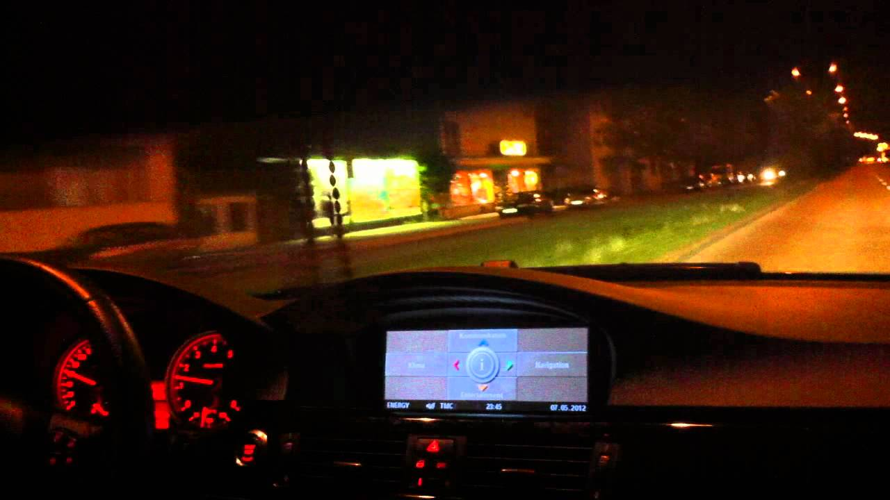 Bmw 335i Coup 233 E92 306 Ps Night Drive Youtube