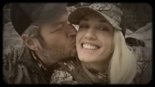 Blake Shelton Can't Stop Kissing Gwen Stefani in New PDA-Heavy Video!