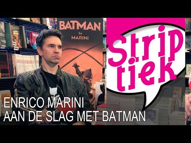 Enrico Marini gaat aan de slag met 'Batman'