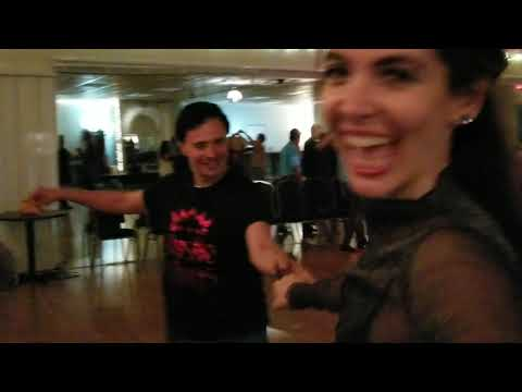 LA Hustle movement dancers: John and Heather