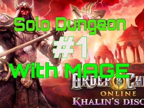 Order And Chaos Online- Solo Dungeon With Mage [HD]