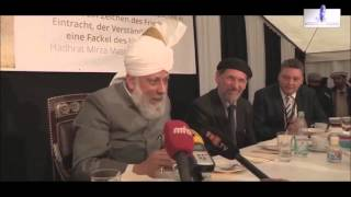 Deutsche Bürger über Ahmadiyya Khalif (Oberhaupt) 2015