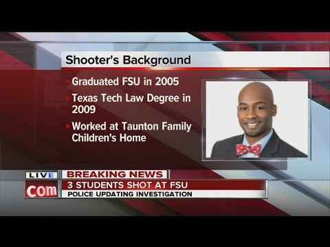 Breaking News:  2 students, 1 employee shot on the campus of Florida State University