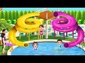 Water Park Picnic - Swimming Pool Party Picnic Fun - Fun Games For Kids