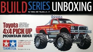 Tamiya Toyota 4X4 Pick-Up MOUNTAIN RIDER - Unboxing & First Look