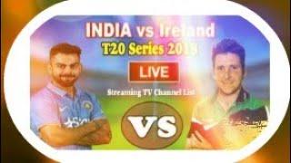 Sony Six live telecast India vs Ireland 2018 in India live Sony Six Ireland vs India 2018