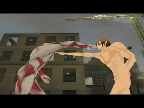 GTA SA Shingeki No Kyojin (Attack On Titan) MACHINIMA Trailer