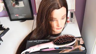 طريقة استخدام المشط الحراري على الشعر المجعد