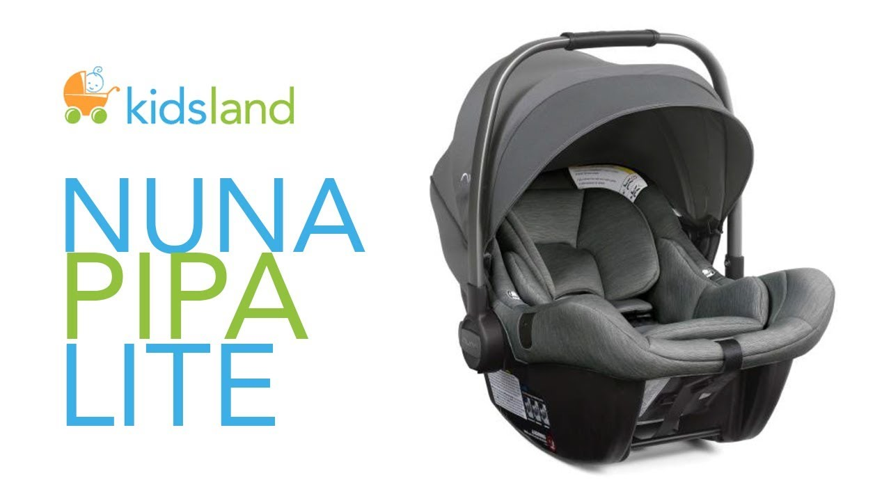 nuna pipa lite infant car seat review how to guide by kidsland youtube. Black Bedroom Furniture Sets. Home Design Ideas