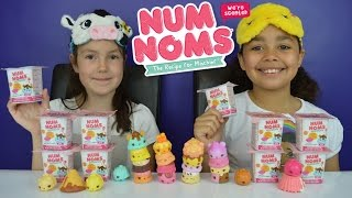 num noms toy challenge   10 surprise toy mystery packs smell game toys andme