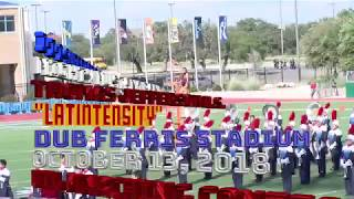 2018 Thomas Jefferson HS UIL Marching Contest Performance