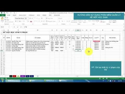 HD Phần mềm quản lý rèn luyện học sinh