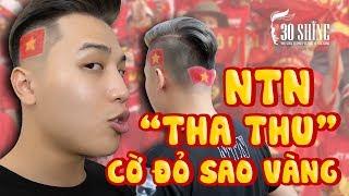 NTN Nguyễn Thành Nam Tattoo Cờ Đỏ Sao Vàng Ăn Mừng Chiến Thắng U23 Việt Nam | 30Shine TV Đặc Biệt