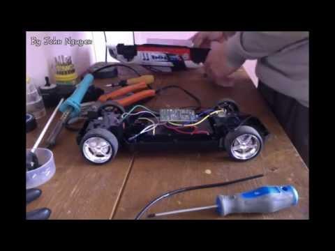 Tìm hiểu cấu tạo xe mô hình điều khiển từ xa