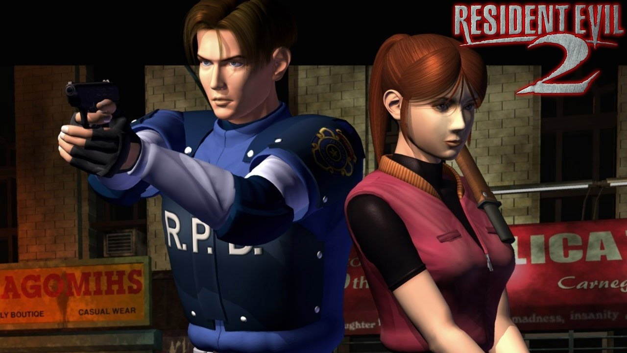 Resident Evil 2 Gameplay Ps1 Psx Youtube