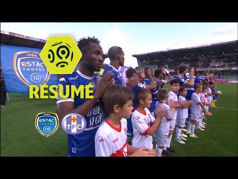 ESTAC Troyes - Toulouse FC (0-0)  - Résumé - (ESTAC - TFC) / 2017-18