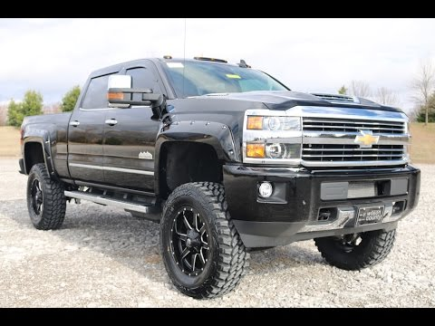 2017 chevy silverado high country 3500hd crew cab 4x4 6 pro comp lift duramax for sale youtube. Black Bedroom Furniture Sets. Home Design Ideas