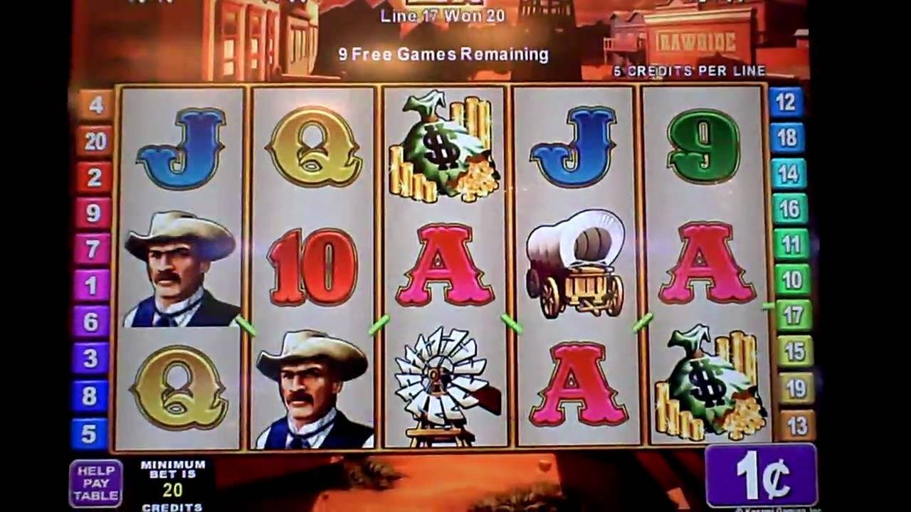 Rawhide Casino Game