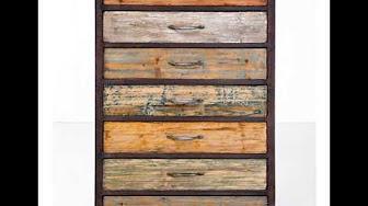 Muebles hechos con madera reciclada