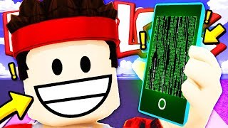 I BECOME a HACKER to DO INFINITE MONEY!! — Roblox ENG (Texting Simulator)