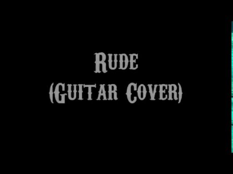 Rude Magic Guitar Cover With Lyrics Chords Youtube