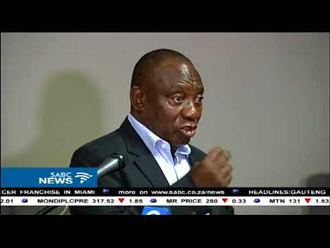 Corruption deters foreign direct investment: Ramaphosa