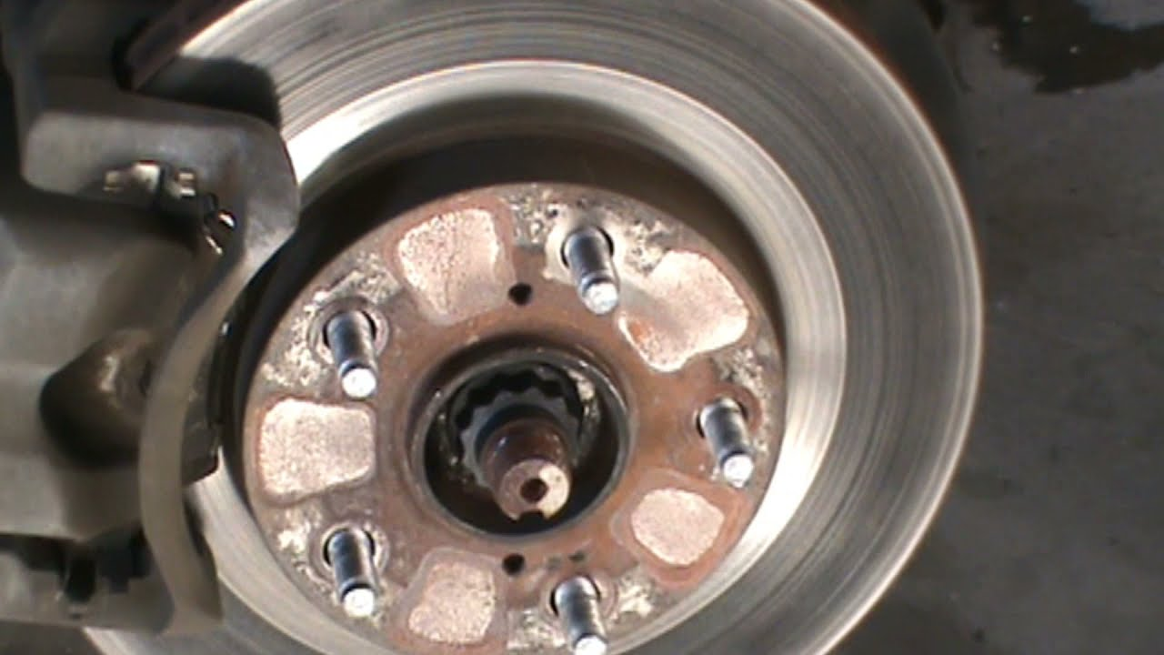 Toyota Rav 4 Brake Job Brake Pads And Rotors Youtube