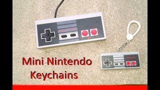Mini Nintendo Keychains