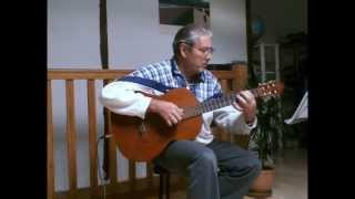 The Winner Takes It All  - for solo acoustic guitar