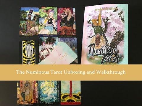 Numinous Tarot Unboxing and Walkthrough