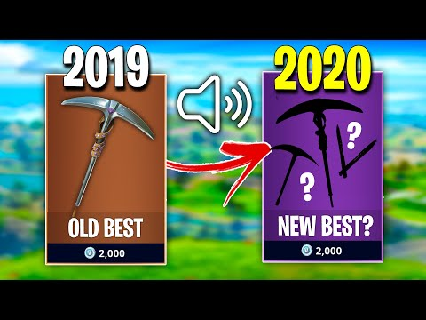 What Is The MOST SILENT Pickaxe To Use In 2020? (Fortnite)