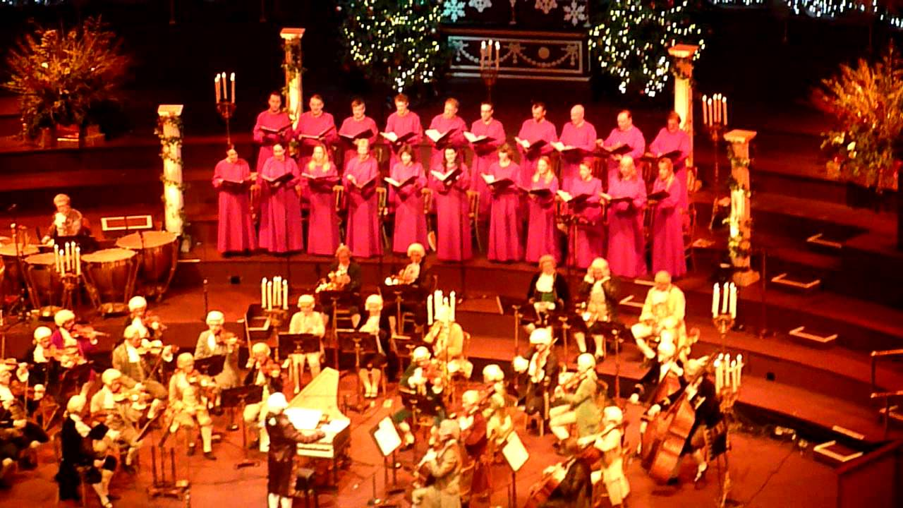 Carols by Candlelight - Royal Albert Hall 2011 - 2 - YouTube