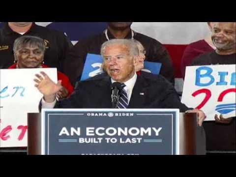 Joe Biden Enters 2012 Campaign With First Major Speech [Full]