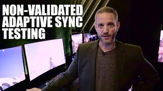 NVIDIA validating Adaptive Sync (Freesync) panels