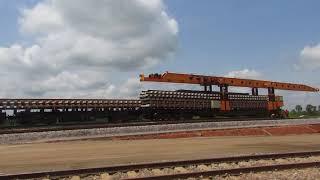 Minister, Chibuike Rotimi Amaechi Inspect Lagos-Ibadan Rail Line.