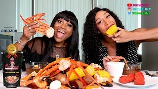 Seafood Boil and Flamin Hot Pickles with ToshPointFro Eats