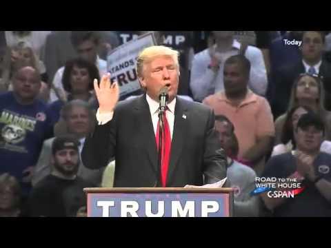 Donald Trump Campaign Rally Buffalo New York