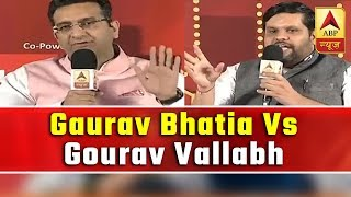 Gaurav Bhatia, Gourav Vallabh Accuse Each Other Of Doing Dirty Politics, Watch Fierce Debate | ABP