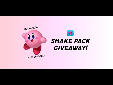 MY FAV VIDEOSTAR SHAKES GIVEAWAY | twitch, bounce + warp
