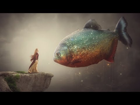Photoshop Manipulation  Tutorial Processing - Big Fish Fantasy