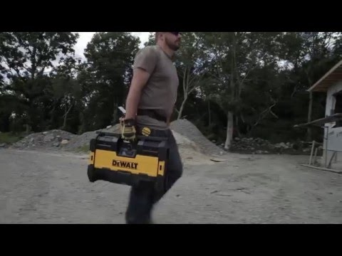 DeWALT radio ToughSystem® Music Player and Charger