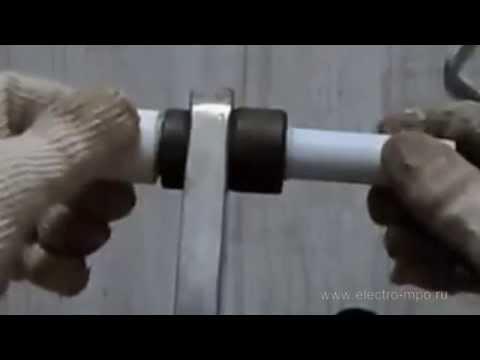 Монтаж пластиковых труб для электрики своими руками