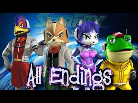 Star Fox Command - All Endings