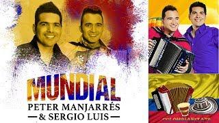 02. Auténtica - Peter Manjarres & Sergio Luis Rodriguez (2014)