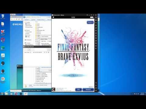 FFBE Macro com - Legacy MEmu