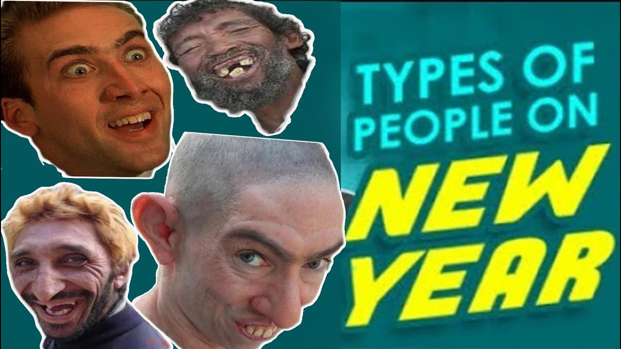 Types of Desi People on NEW YEAR